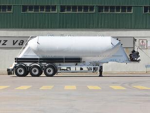 новая цистерна силос OKT TRAILER 37 m3 W TYPE NONTIPPING SILO SEMI TRAILER