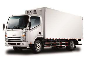 новый авторефрижератор JAC Изотермический фургон с ХОУ JAC N 80