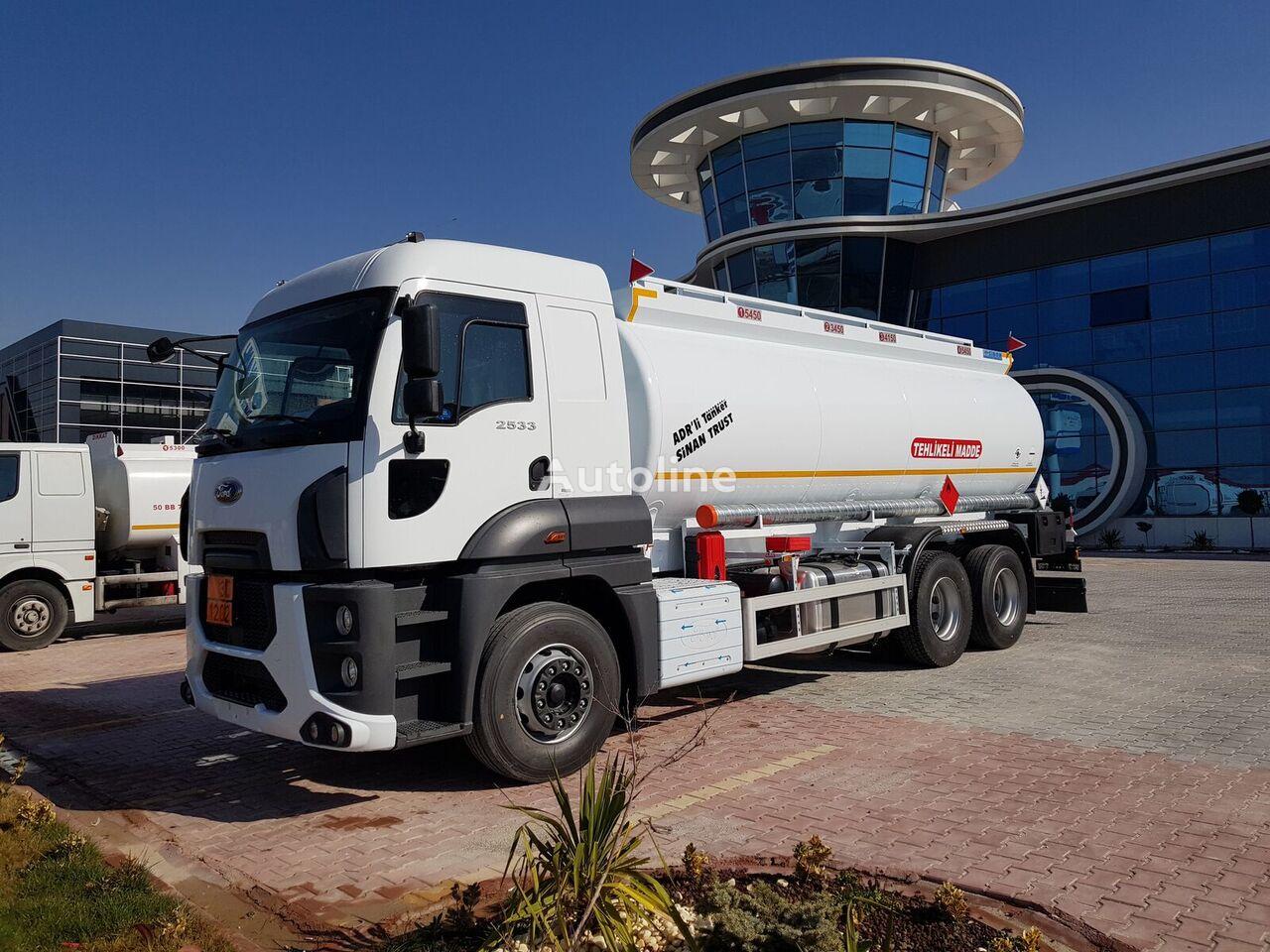новый бензовоз MERCEDES-BENZ Fuel Tank