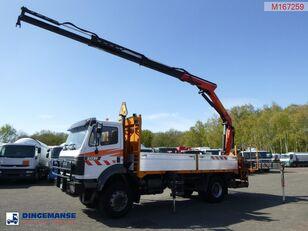 бортовой грузовик MERCEDES-BENZ SK 2031 4X2 + Palfinger PK13000
