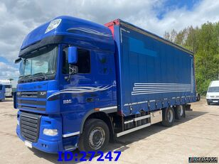 грузовик штора DAF XF 105.460 - ATE - Euro 5