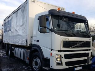 грузовик штора VOLVO FM 380 6X2 + hiab 144 BS 2 HI DUO