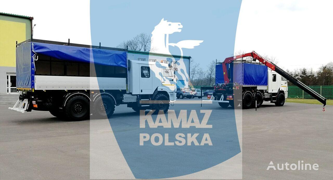 новый кунг КАМАЗ 6x6 SERWISOWO-WARSZTATOWY