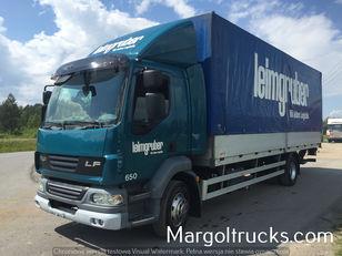 тентованный грузовик DAF LF 55 250 plandeka + winda Sprowadzony ze Szwajcarii