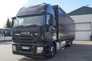тентованный грузовик IVECO Stralis Hi-Way 2014