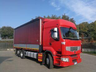 тентованный грузовик RENAULT PREMIUM 450.260 6X2 EURO 5, TELONATO 7 METRI + GANCIO TRAINO