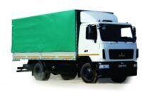 новый тентованный грузовик МАЗ 534026