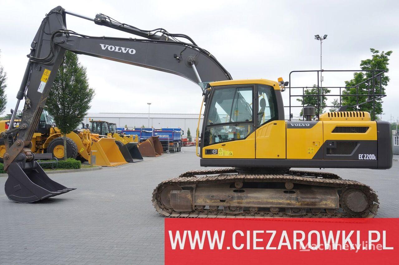 гусеничный экскаватор VOLVO 24T excavator EC220DL / track 700mm / quick / camera / a-c